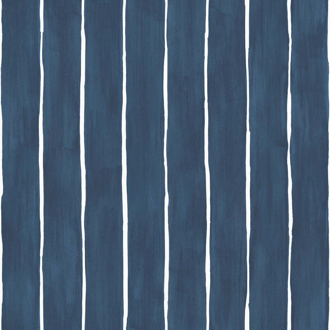 Tapeta Cole and Son Marquee Stripe White/Navy