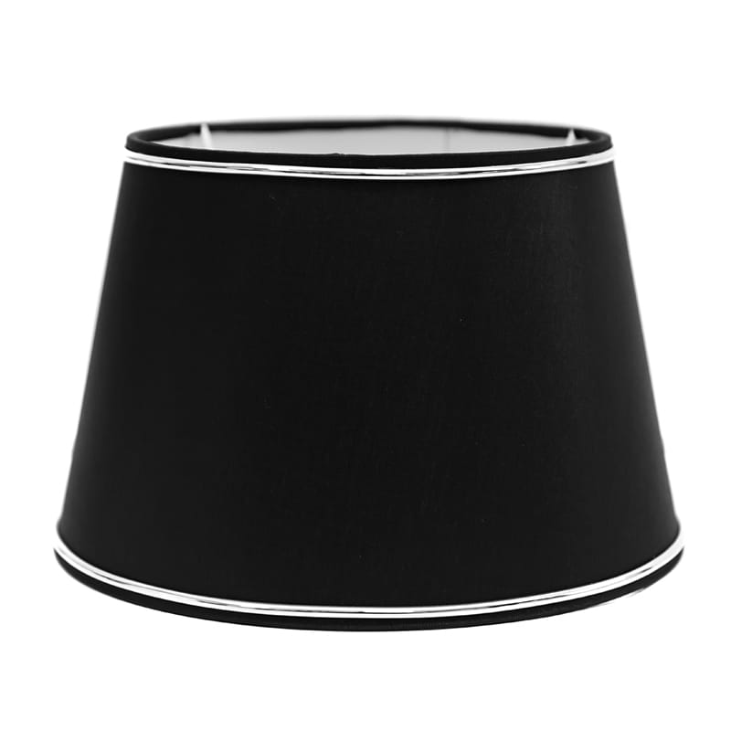 Abażur Chic Black/Chrom - Decoratore.pl