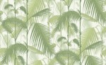 Tapeta Cole and Son Palm Jungle Green/White