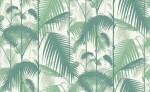 Tapeta Cole and Son Palm Jungle Emerald/White