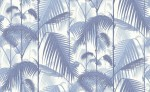 Tapeta Cole and Son Palm Jungle Blue/White