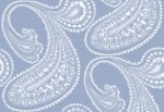 Tapeta Cole and Son Rajapur White/Blue