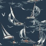 Tapeta Marstrand II Sailboats Blue
