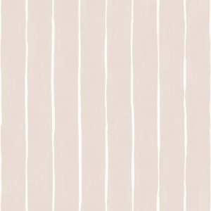 Tapeta Cole and Son Marquee Stripe White/Pink