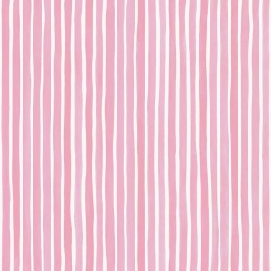 Tapeta Cole and Son Croquet Stripe Pink/White