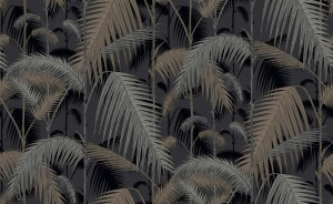 Tapeta Cole and Son Palm Jungle Gold/Silver/Grey