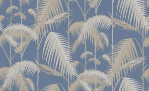 Tapeta Cole and Son Palm Jungle Beige/Navy