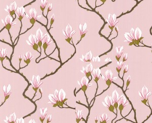 Tapeta Cole and Son Magnolia Pink