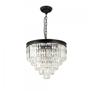 Lampa Artism Black/Gold/Transparency