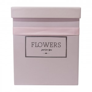 Flowerbox Pink Square