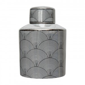 Waza Canister Silver/White M