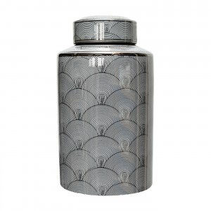 Waza Canister Silver/White