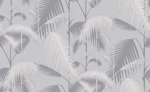 Tapeta Cole and Son Palm Jungle Grey/Silver