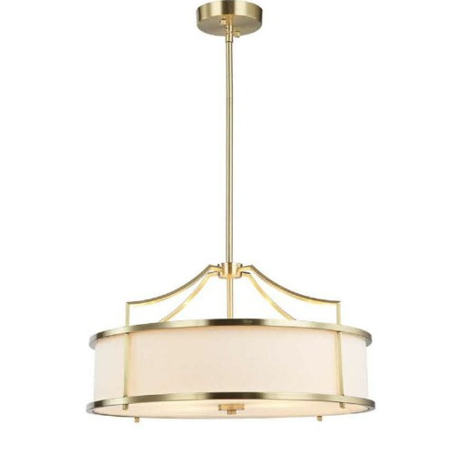 Lampa Washington Satin Gold L