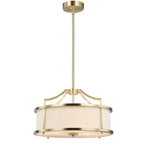 Lampa Washington Satin Gold M