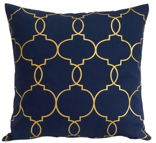 Poduszka Imperiale Navy/Gold - Decoratore.pl
